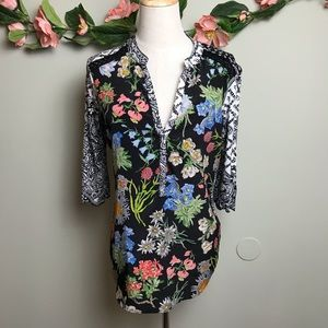 Anthro Tiny | Floral Print Top sz Small